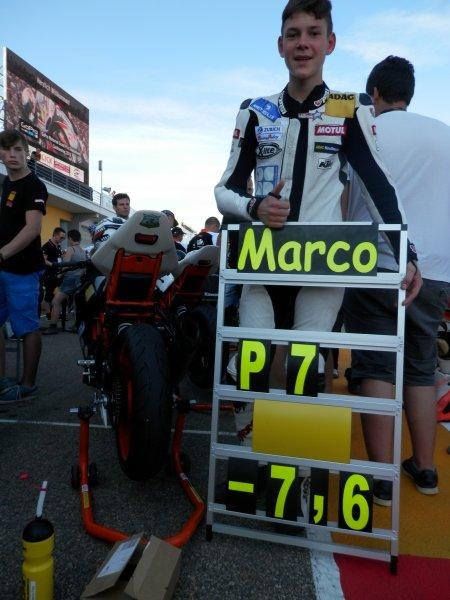 Astrein... Glückwunsch... am Sachsenring auf P7