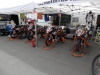 "Unser ""Lager"" im Mini- Junior-Cup Fahrerlager"