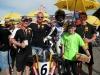 Günni, Thorsten, Marco, Vale, und Mini-Biker Nick Filler